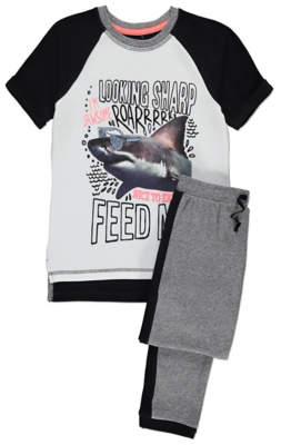 Shark Print Pyjamas
