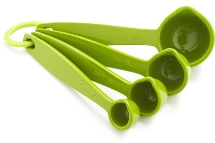 Microplane Sur La Table® Set of Four Measuring Spoons