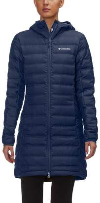 Columbia Lake 22 Long Hooded Down Jacket - Women's
