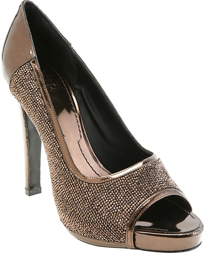 Givenchy Open Toe Beaded Pump