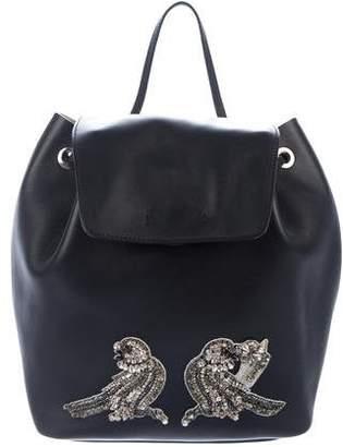 No.21 No. 21 Embellished Leather Backpack