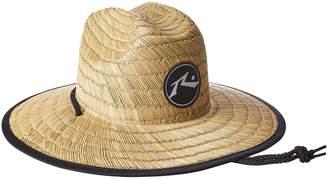 Rusty Men's Boony Straw Lifegaurd Hat