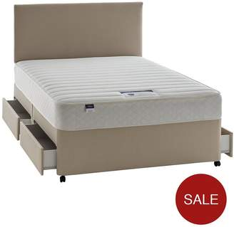 Silentnight Miracoil 3 Celine Memory Divan With Optional Storage And Half-Price Headboard Offer