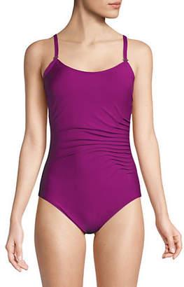 Calvin Klein Starburst One-Piece Swimsuit