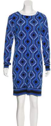 MICHAEL Michael Kors Geometric Mini Dress