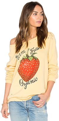 Lauren Moshi Noleta Vintage Pullover in Yellow $150 thestylecure.com