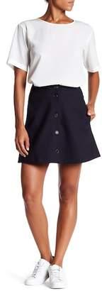 Paul & Joe Sister Button Front Skirt