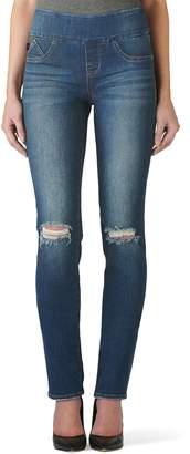 cf37d556e38 Rock & Republic Women's' Fever Midrise Pull-On Straight Leg Jeans