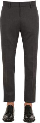 DSQUARED2 16.5cm Admiral Wool Flannel Pants
