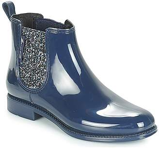 BeOnly Be Only NASHVILLE women's Wellington Boots in Blue