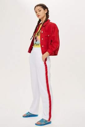 Topshop TALL Glitter Side Striped Pants