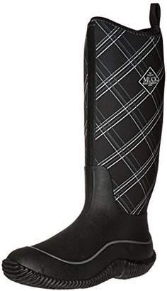Muck Boots Women's Hale (Plaid) Wellington Boots, Black (Black/Castlerock), 39/40 EU