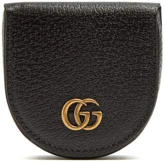 Gucci GG Marmont grained-leather coin purse
