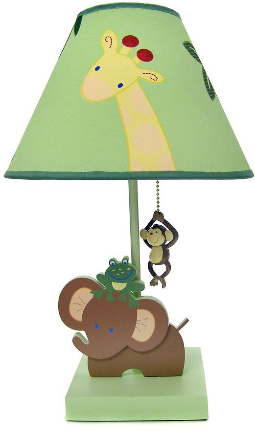 NoJo jungle babies table lamp