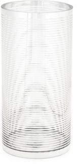 Textured Ring Cylinder Vase