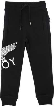 Boy London Logo Printed Cotton Sweatpants