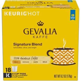 Keurig Gevalia Kaffe Signature Blend Mild-Medium Roast Coffee K-Cup Pods - 18ct