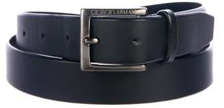 Giorgio Armani Leather Dress Belt