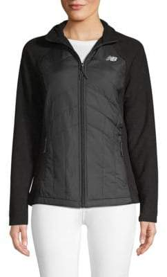 New Balance Quilted Zip Jacket