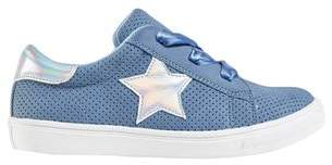 Mens **Girls Blue Low Top Sneakers (5- 12 years)