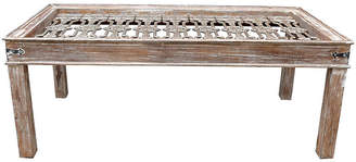 One Kings Lane Vintage Cast Iron Grill-Top Dining Table