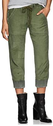 Greg Lauren Women's Baker Cotton Canvas Lounge Pants