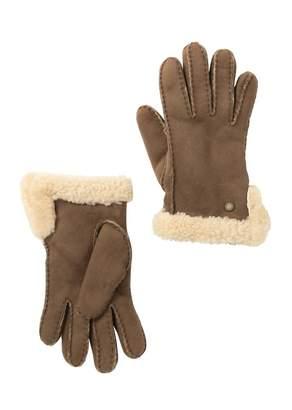 UGG Genuine Sheepskin Slim Side Vent Gloves