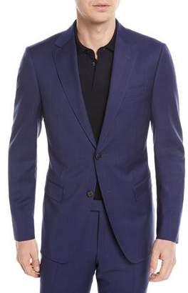 Z Zegna Tonal Plaid Wool Two-Piece Suit