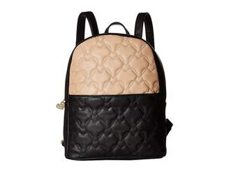 Betsey Johnson Backpack with Crossbody Backpack Bags
