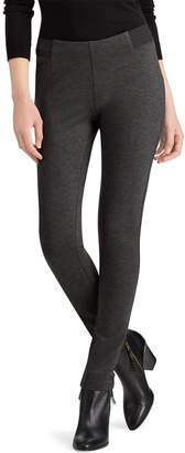 Chaps Petite Slim-Fit Mid-Rise Ponte Skinny Pants