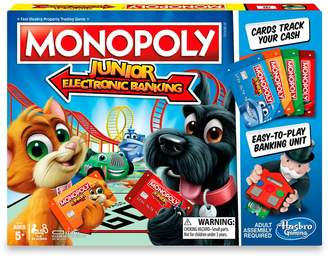 Hasbro Monopoly Junior Electronic Banking by Games
