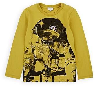 Paul Smith Kids' Astronaut-Print Cotton T-Shirt