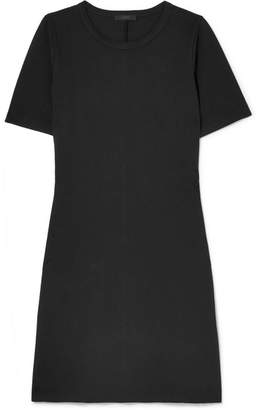 J.Crew Sunset Stretch-jersey Mini Dress - Black