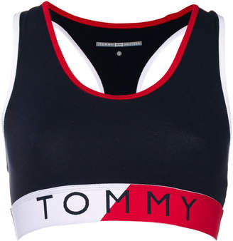 Tommy Hilfiger printed logo cropped top