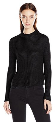 American Apparel Women's Aslan Long Sleeve Pullover Sweater $34.56 thestylecure.com