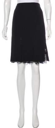 Yansi Fugel Knee-Length A-Line Skirt