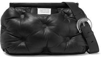 Maison Margiela Glam Slam Medium Quilted Leather Shoulder Bag - Black