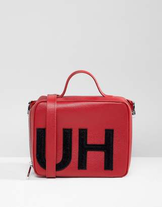 HUGO handbag with textured logo