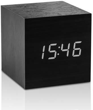 GINGKO Cube Click Clock - Black/White LED