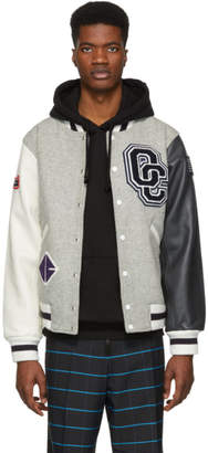 Opening Ceremony Grey Classic Varsity Jacket