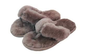 Eastern Counties Leather Womens/Ladies Sheepskin Flip Flops (10 US)
