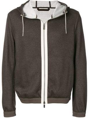 Ermenegildo Zegna zip front hoodie