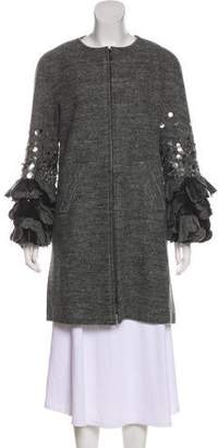Chanel Paris-Rome Wool Coat