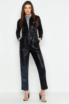 f06769cbbbe4 Womens Leather Look Trousers - ShopStyle UK
