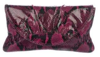 Lauren Merkin Leather Flap Clutch