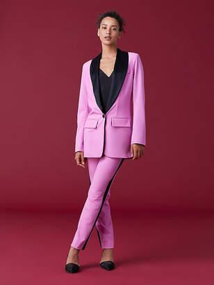 Diane von Furstenberg Tommy Crepe Jacket
