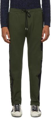 Kenzo Green Mixed Mesh Lounge Pants