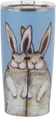 Studio Oh Bunny Friends Stainless Steel Tumbler, 17 oz./ 503 mL