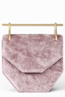 M2Malletier Mini Amor Fati Velvet Shoulder Bag
