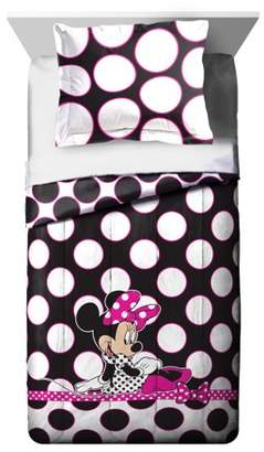 Disney Minnie Mouse 5 piece Twin Bed Set, Kid's Bedding